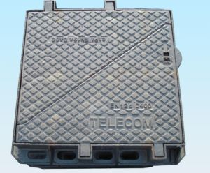 Double Triangle Cover Ductile Iron Manhole for Telecom