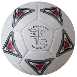High Quality Hand Sewing Soccer Ball pictures & photos