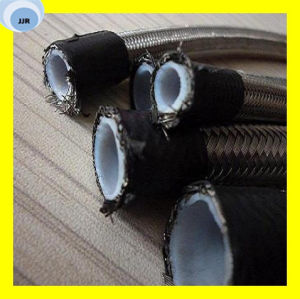 High Quality Braided with Stainless Steel SAE 100 R14 PTFE Teflong Hose pictures & photos