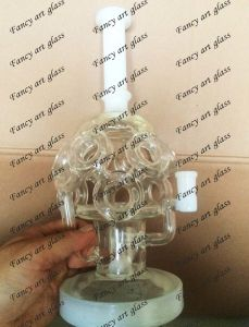 High Quality Wholesale Glass Water Pipe Smoking with Water Recycler pictures & photos