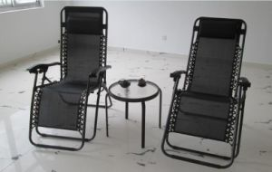 Outdoor Deck Chair Folding Deck Easy up Deck Chair  Textilene Chair pictures & photos