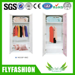 Cheap Bedroom Furniture Wood Clothes Storage Cabinet Wardrobe (SF-95C) pictures & photos