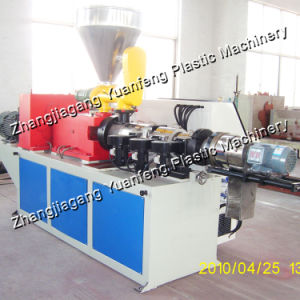 Conical Twin Screw Extruder Machine for Making PVC Granules