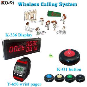 Restaurant Intercom System Button Remote Control Equipment K-336+Y-650+O1-B pictures & photos