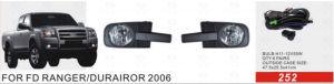 Front Fog Lamp for Ford Ranger/Durairor 2006