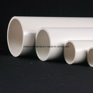 Large Diameter White Color PVC Pipe for Water Supply pictures & photos