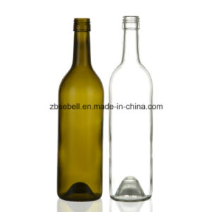 750ml Screw Top Bordeaux Wine Bottle pictures & photos
