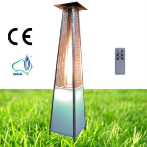 China Led Light Gas Patio Heater Outdoor Gas Patio Heater