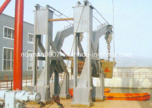 Gravity Luffing Arm Type Davit pictures & photos