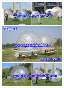 PVC & TPU Hamster Zorbing Inflatable Zorb Ball Human Zorb Ball (RA-101) pictures & photos