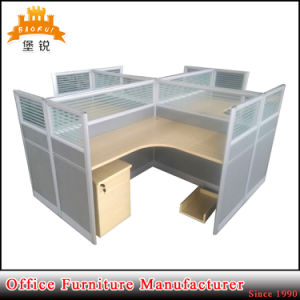 Modern 4 Person Seat Office Computer Workstations Table pictures & photos