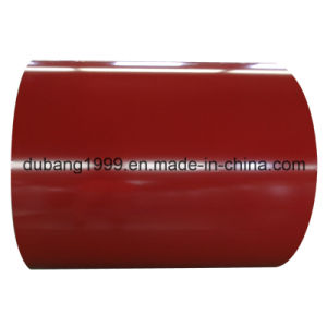 PPGI with White Flower Red Base From Shandong pictures & photos