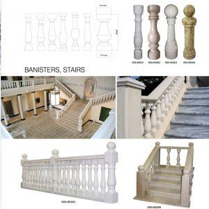 Luxury Building Decoration Stone Column Pillar Top Door Surrounds pictures & photos
