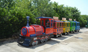 Chinese, Amusement, Holiday, CE Approval, Christmas, Park, Indoor&Outdoor, Shopping Mall, Kids, Mini Electric Fun Train pictures & photos