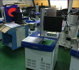Low Price Laser Marking Machine for Metal and Nonmetal pictures & photos