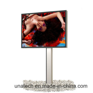 Pole Mega LED Outdoor Road Banner Printed Advertising Media Billboard Banner Light Box pictures & photos