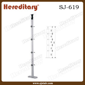 Outdoor Stainless Steel Baluster Design for Staircase and Balcony (SJ-619) pictures & photos