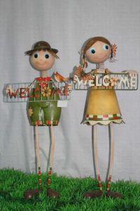 Iron Crafted Welcome Boy/Girl (JW10011 / JW10020)