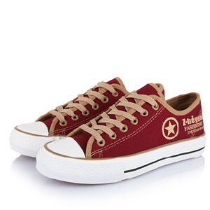 Hot Sales Women′s Canvas Shoes (BF-F099) pictures & photos