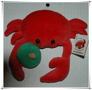 Stuffed Animal Red Crab Stuffed Toy for Sale pictures & photos