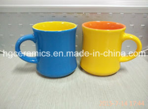 Two Tone Ceramic Mug, New Shape Ceramic Mug. Coffee Mug pictures & photos