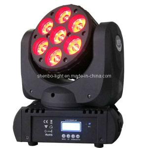 China Light 7PCS 12W LED Moving Head Disco Light