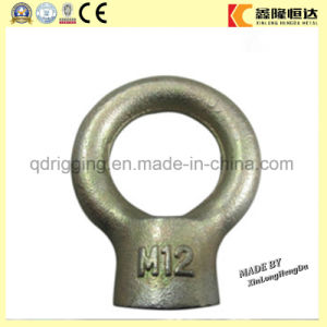 DIN580 M12 Lifting Anchor Oval Eye Bolts with Certification pictures & photos