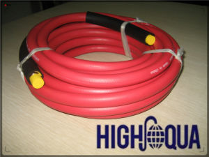 ISO 2983 Standard Smooth Surface Braid Air Hose with Fitting Chinese Manufacturer pictures & photos