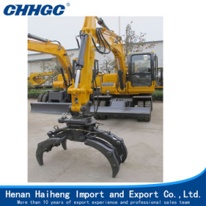 Small Material Claws Digging Machine for Sale pictures & photos