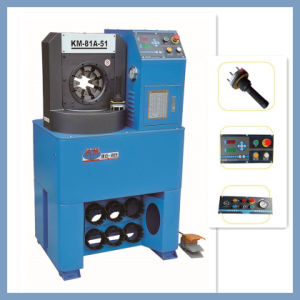 Approved Ce New Supper Thin Hydraulic Hose Crimping Machine for Excavator/ Loader/Crane Hydraulic Hose pictures & photos