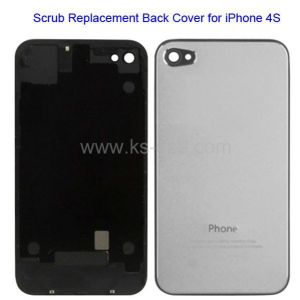 Scrub Replacement Back Cover for iPhone 4S, with Logo