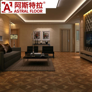Factory Outlet Indoor Used Unilin Click Laminate Flooring pictures & photos