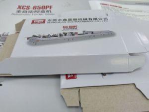 Xcs-800PF Corrugated Carton Paper Folder Gluer Machine pictures & photos