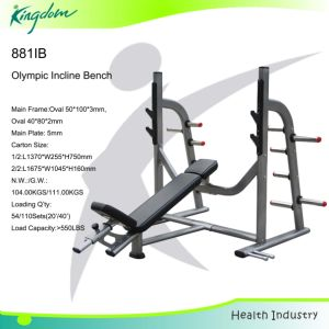 Olympic Incline Bench/Strength Gym Commercial Exercise Equipment Weight Bench pictures & photos