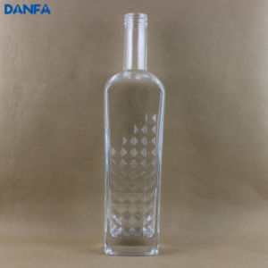 Premium Glass Rum Bottle 750ml pictures & photos
