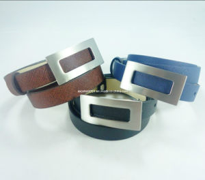 Fashion Lady PU Belt with Auto Buckle (EUBL0985-20)