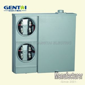 High Quality Cheaper 100A Aluminum Enclosure Combination Meter Socket pictures & photos