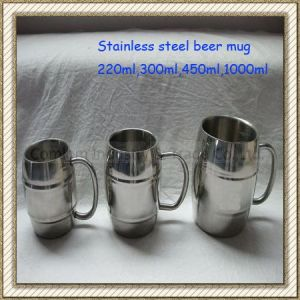 Stainless Steel Beer Mug (CL1C-M15) pictures & photos