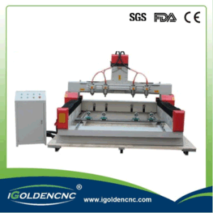 4 Axis Multi Spindle CNC Router Machine for Wood Furniture pictures & photos