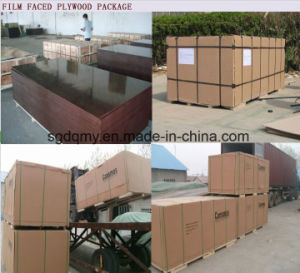 Film Faced Plywood 12mm for Building Material pictures & photos
