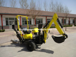 Self Propelled Powered Towable Backhoe pictures & photos