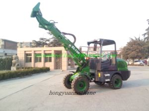 Zl10f Teleskoplader Telescopic Boom Wheel Loader with Ce pictures & photos