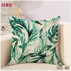 Home Decorative Printed Leaf Bed Throw pictures & photos