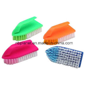 Plastic Iron Scrubber Cleaning Brush pictures & photos