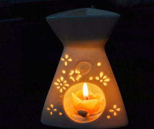 Elegant Ceramic Candle Holder (SYT-LZ010)