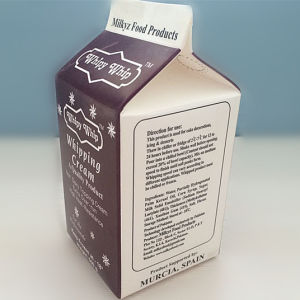 500ml Cream Gable Top Carton pictures & photos