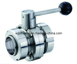 Stainless Steel Sanitary Union Butterfly Valve (CF8830)