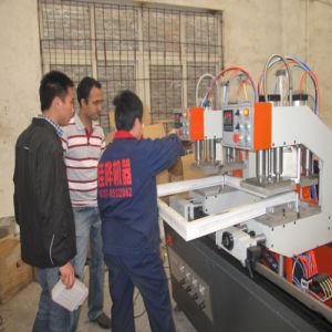 Three-Head Welding Machine\
