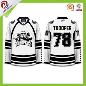 Wholesales Custom Youth Hockey Jerseys Cheap Design, Sublimated Cheap Team Hockey Jerseys pictures & photos