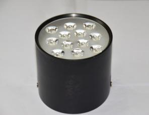 LED Open-Mounted Down Lamp Black 3000k \650k